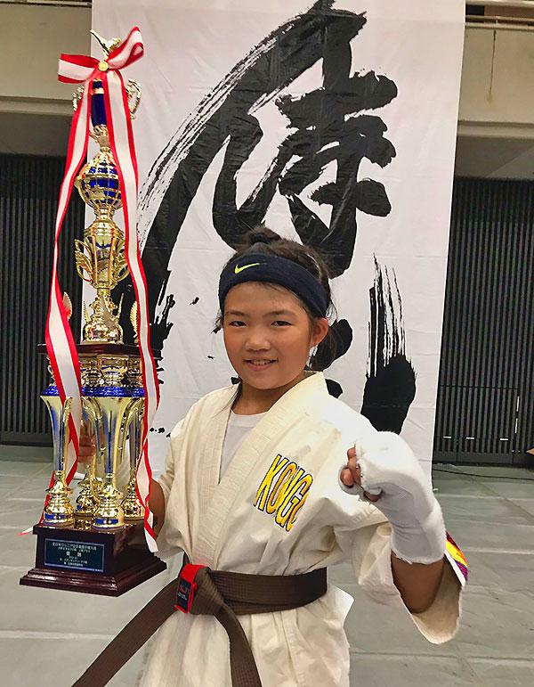曽和咲良ちゃんが全日本大会で優勝!